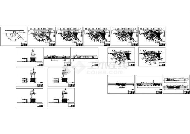 2+2夹层扇型博物馆扩大工程建筑设计方案图-图一