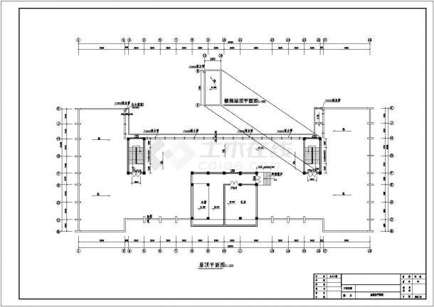 某建筑面积11305.82平米八层框架结构大学实验楼毕业设计cad全套建施图纸(含设计说明,含结构设计,含计算书)-图二