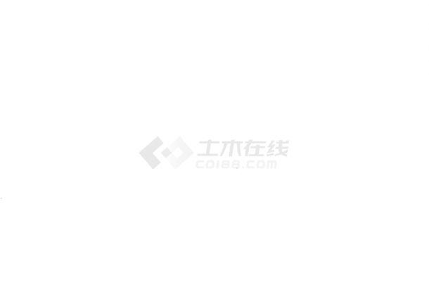 [北京]地上单层钢筋混凝土排架结构工业厂房结构设计施工图-图一