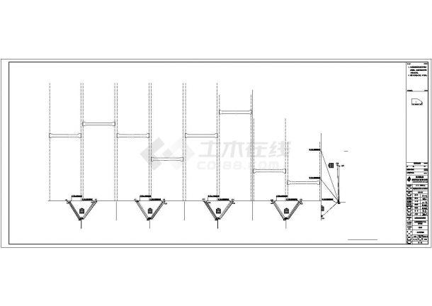 某机床生产加工车间配电设计cad全套电气施工图(含设计说明)-图一