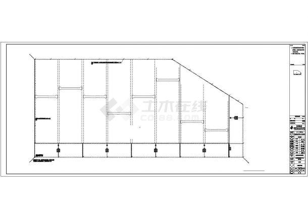 某机床生产加工车间配电设计cad全套电气施工图(含设计说明)-图二