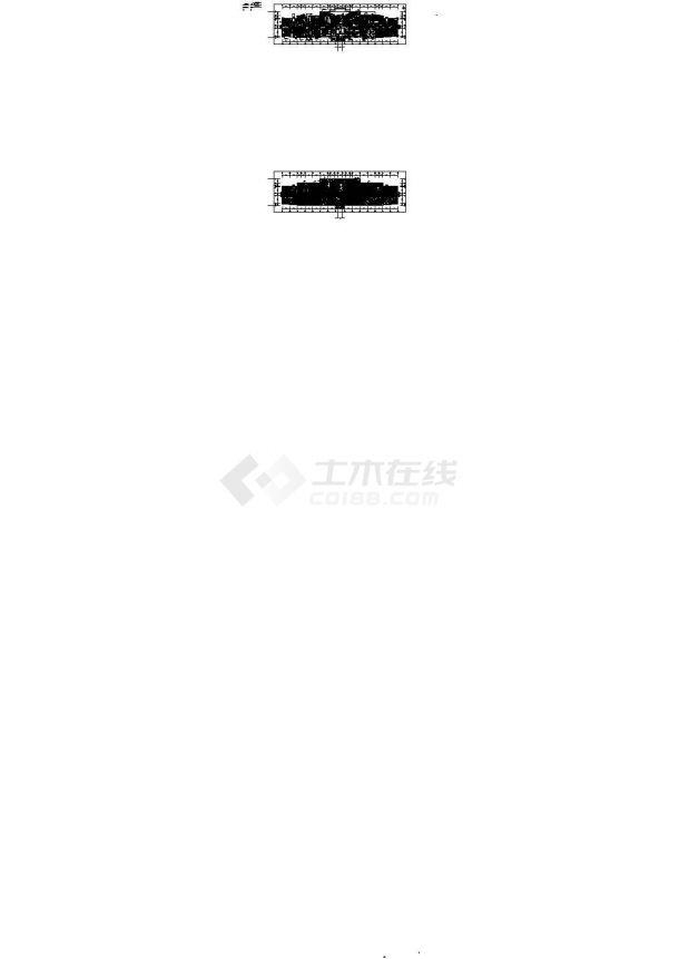 [安徽]医院病房楼照明与配电系统设计施工图纸设计-图一
