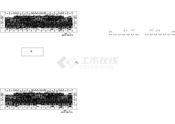 [安徽]医院病房楼照明与配电系统设计施工图纸设计-图二
