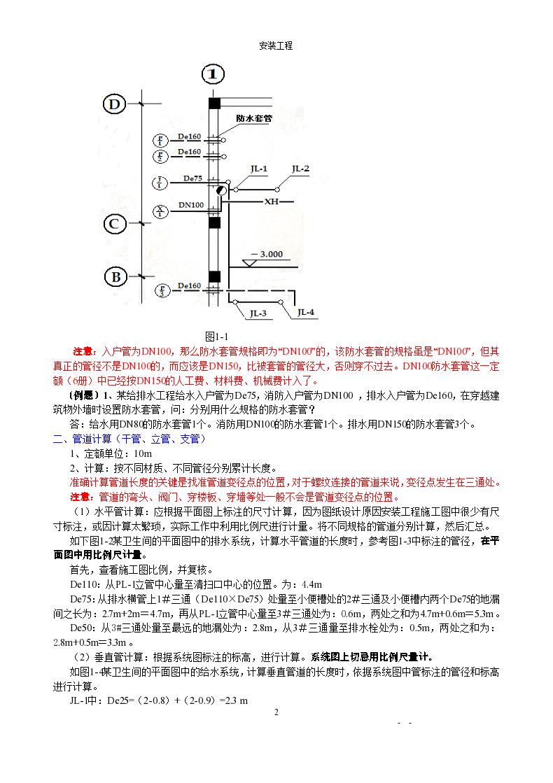 安装工程造价之从零基础讲解-图二
