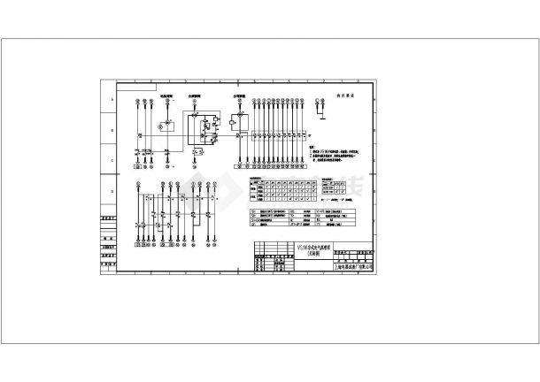 vs1手车式电气原理图CAD-图一
