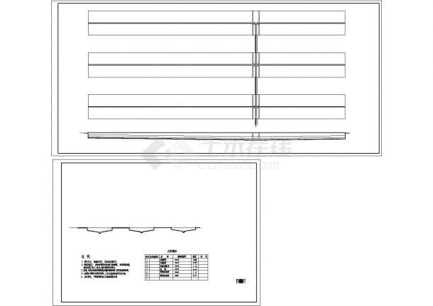 某市淀粉厂水处理建筑设计施工图-图二