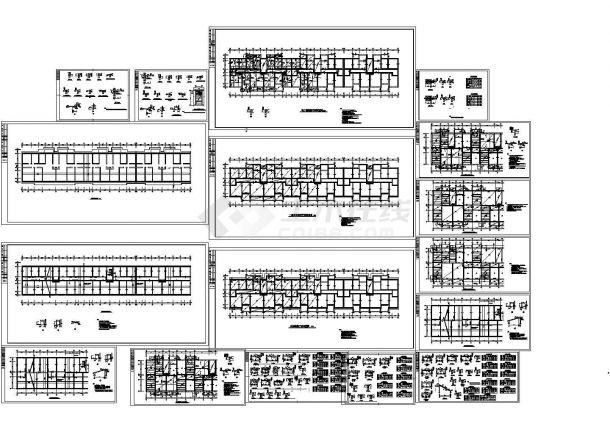 某-1+5层框架结构住宅楼设计cad全套结构施工图【甲级院设计】-图二