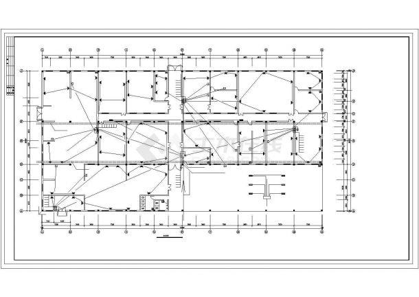 某厂房电气施工图纸(共4张图纸)-图二