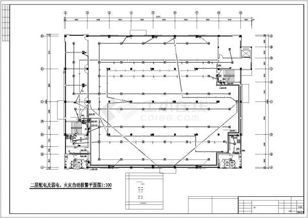 经济开发区标准厂房电气施工图纸-图二