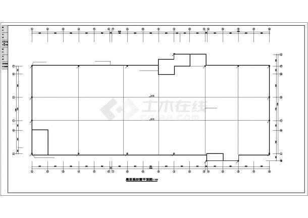 2.6万平米四层重型注塑厂房电气施工图-图一