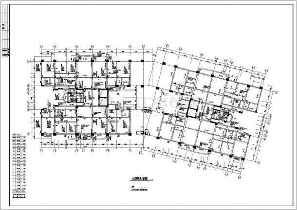 东莞某花园框架结构设计全套CAD图-图一