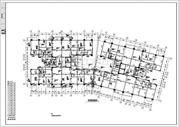 东莞某花园框架结构设计全套CAD图-图二