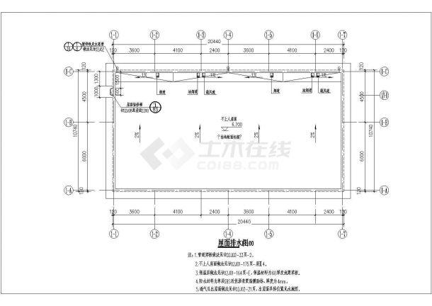 某二层砖混结构新风尚别墅设计cad建筑方案图(带效果图)-图一