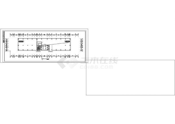办公楼设计_十二层办公楼电气施工图纸.cad-图一