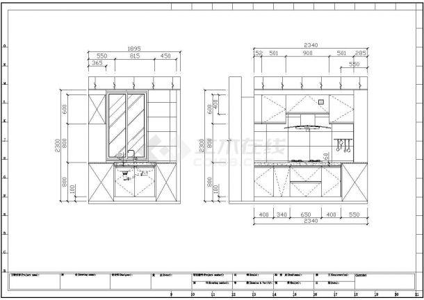 简约中式住宅全套装修施工图(含效果图)-图一
