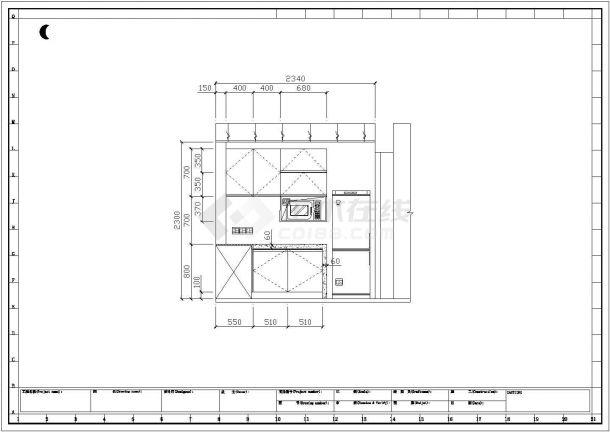 简约中式住宅全套装修施工图(含效果图)-图二