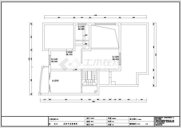 纯中式风格住宅全套装修施工图-图二