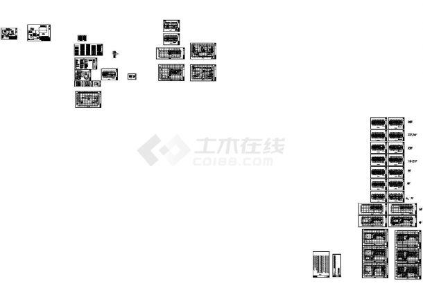 合肥瑞龙国际大酒店暖通设计施工图-图一