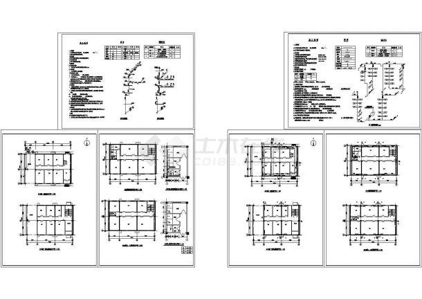 [河北]住宅散热器采暖系统设计施工图(含给排水设计)-图一