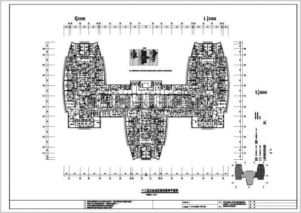某医院高层外科大楼智能照明系统设计cad全套施工图(含设计说明)-图二