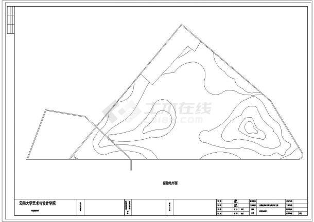 北戴河奥运主题公园景观设计cad方案-图二