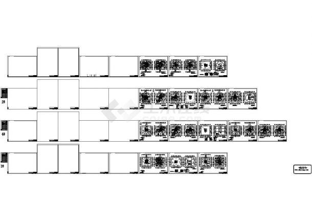 [云南]某13万平米小区全套电气图纸(地下室、5栋高层、配套房)-图二