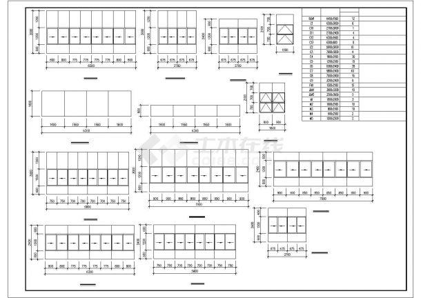 厂房设计_5层9522.2平米现代厂房建施【平立剖 门窗楼梯卫生间大样】CAD设计施工图纸-图一