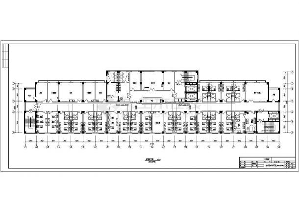 某医院多层综合楼弱电系统设计cad全套施工图(含设计说明)-图二