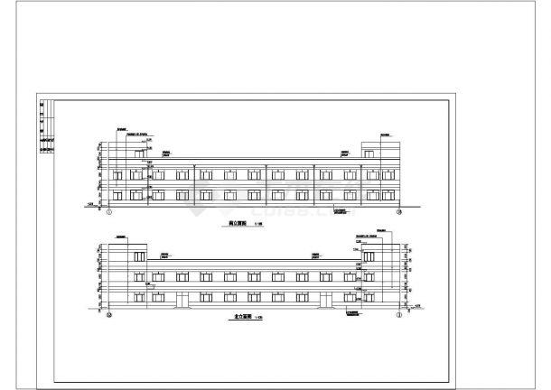 厂房设计_某公司厂房建筑施工图非常标准CAD图纸设计-图一