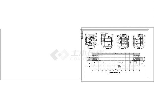 厂房设计_某公司厂房建筑施工图非常标准CAD图纸设计-图二