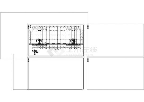 厂房设计_四层厂房建筑施工图非常标准CAD图纸设计-图一