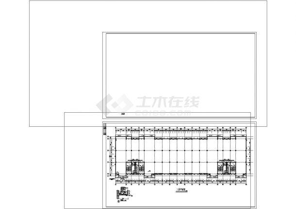 厂房设计_四层厂房建筑施工图非常标准CAD图纸设计-图二