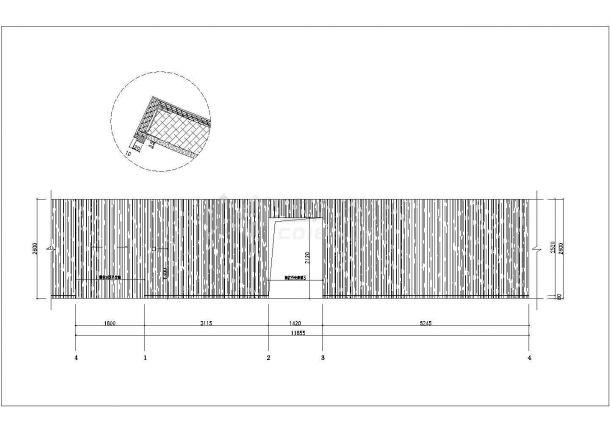 [安徽]某休闲中心桑拿会所室内装修设计cad全套施工图(含效果图)-图一