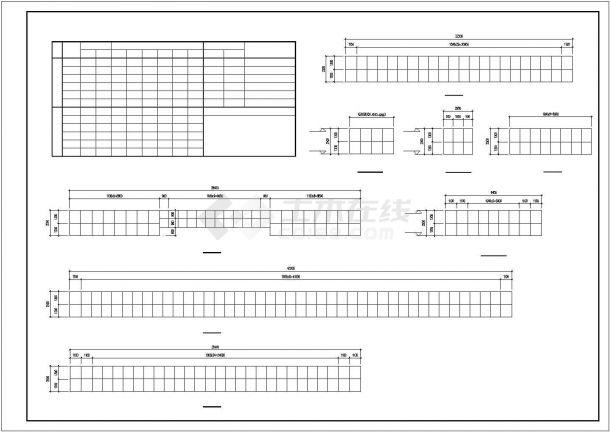 厂房设计_长44.8米 宽34米 4层厂房建筑施工图【平立剖 窗大样】CAD设计施工图纸-图一