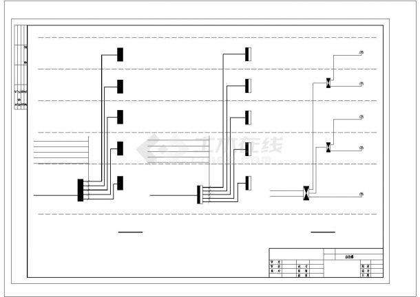 办公楼设计_五层办公楼电气施工图纸.cad-图一