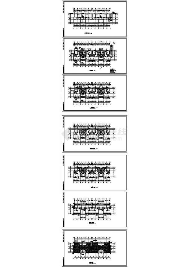 某地上二层带阁楼住宅建筑施工图纸设计-图二