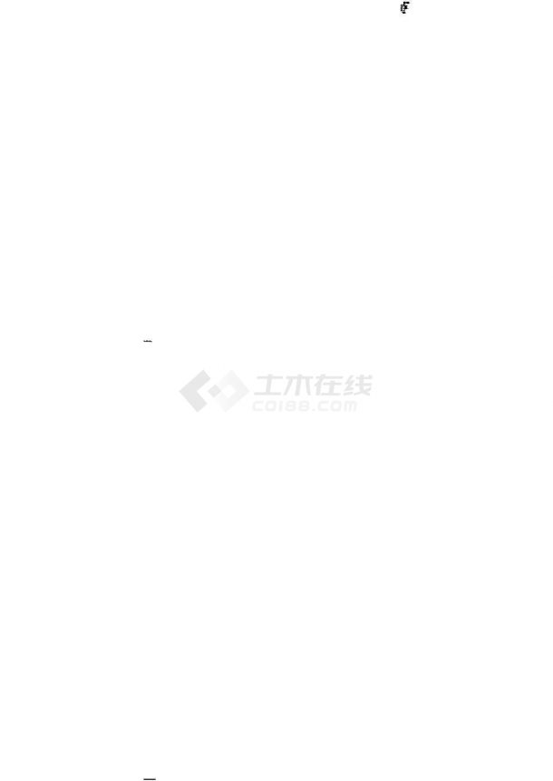 [江苏]电子洁净厂房给排水消防竣工图(循环冷却水系统 工艺纯水管道)cad施工图设计-图二