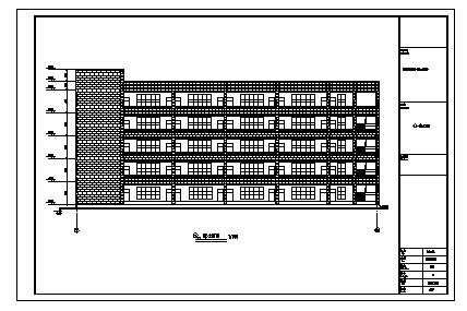 土木工程毕业设计_最新整理四套多层中学教学楼毕业设计资料合集(含计算书,图纸)-图一