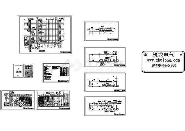 某中医院高级病房楼电气图纸 含设计说明-图二