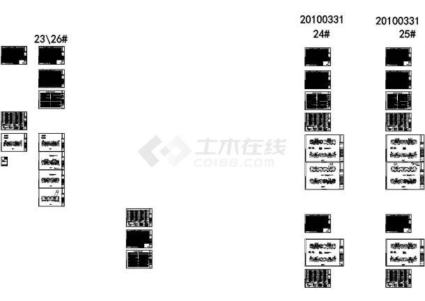 [江苏]高层住宅全套强弱电施工图(含楼宇对讲、安全防范系统)-图一