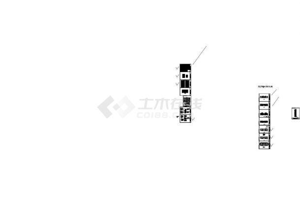 [江苏]高层住宅全套强弱电施工图(含楼宇对讲、安全防范系统)-图二
