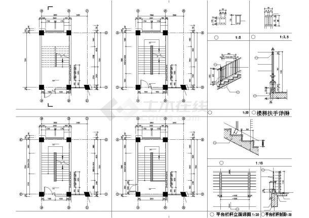 某地校区教学综合楼设计施工图纸-图一