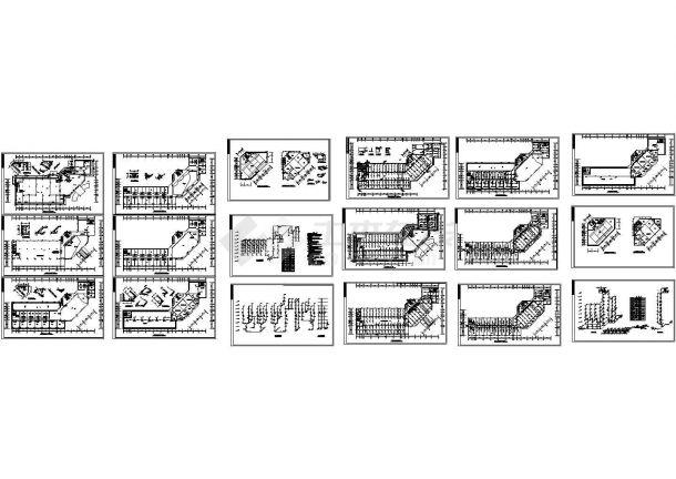 某高层综合楼给排水消防设计图-图一