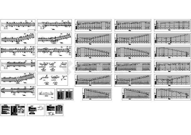 某城市市政给排水管道设计cad全套施工图纸(含设计说明)-图二