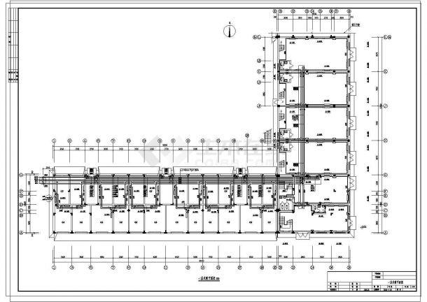 某地多层住宅楼采暖系统cad设计施工图-图二