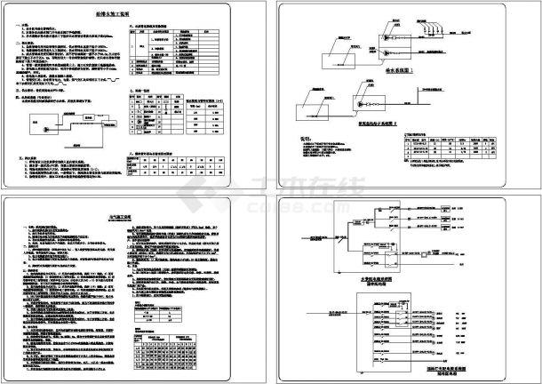 42.31x28m别墅庭院景观施工全套图【3个CAD】-图二