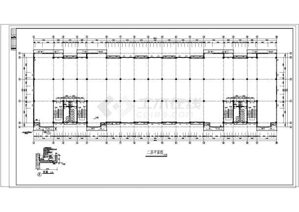 某地多层五金厂房建筑施工图纸-图二