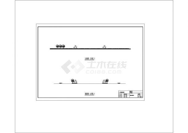 舟山市东湖北路绿湖景观设计规划cad图纸,共一份资料-图二