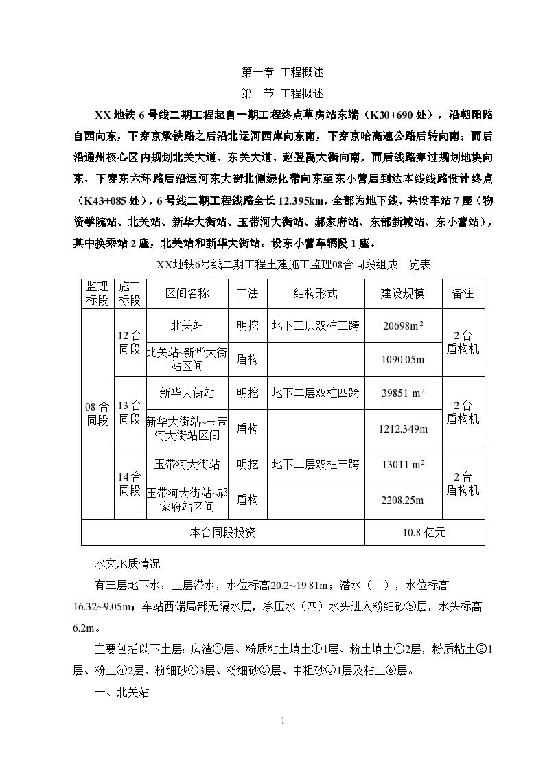 地铁工程监理投标大纲 261页(完整 附流程图丰富).-图二
