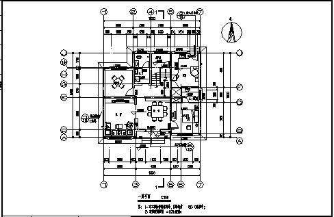 最新整理五套多层现代简约风格新农村单家独院式别墅建筑设计图(带效果图)-图二